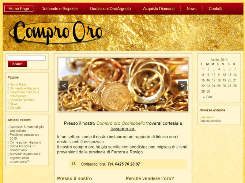 Compro Oro Occhiobello
